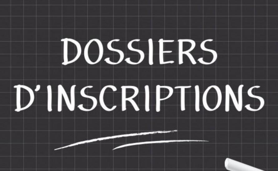 Dossier d'inscription SAISON 2021-2022
